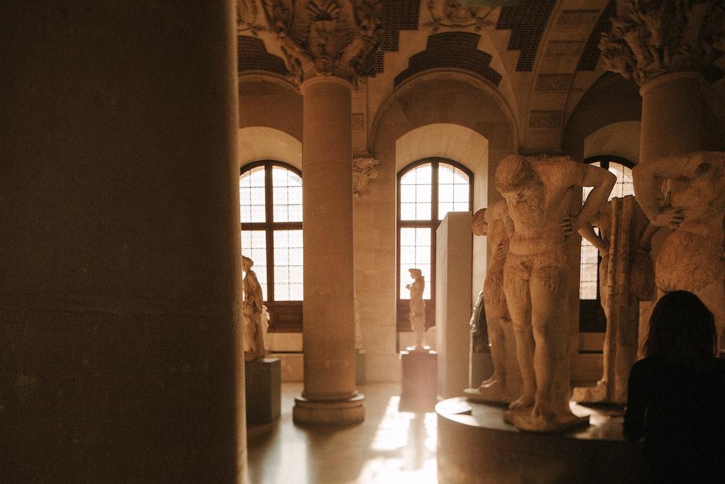 Foto von antiken Statuen